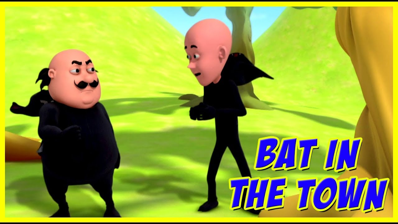 Motu Patlu Bat In The Town Motu Patlu In Hindi Youtube
