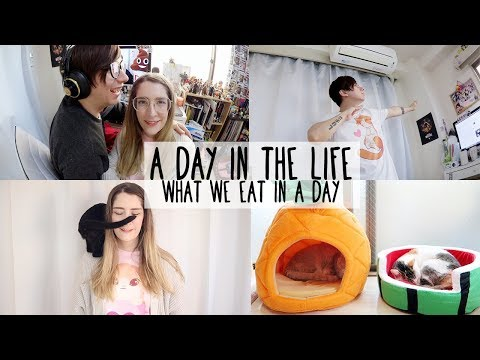 A Chill Day in the Life in Japan & What we eat in a day