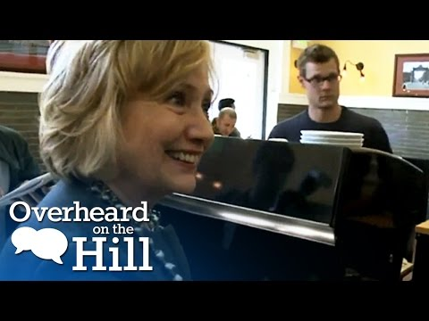 Hillary Clinton LOVES Coffee | Overheard On The Hill | msnbc