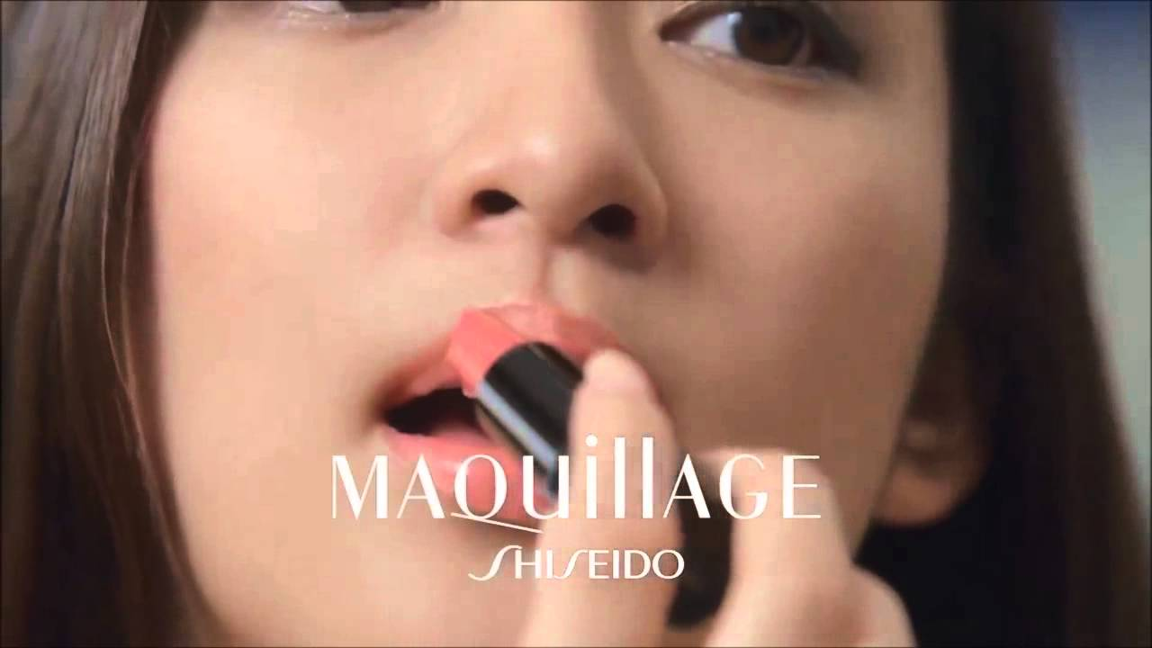shiseido maquillage lighting white powdery uv true rouge tv commercial - True Colors Maquillage
