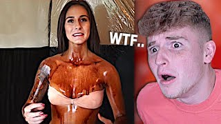 Girl Stuck In TANNING BED Turns BAD..
