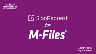 Signrequest for M-Files