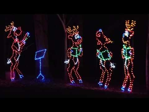 MNCPPC's FESTIVAL OF LIGHTS in Prince George's County