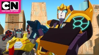 Secret Mission to Deception | Transformers Cyberverse | Cartoon Network