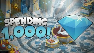 SPENDING 1,000 DIAMONDS IN ANIMAL JAM!