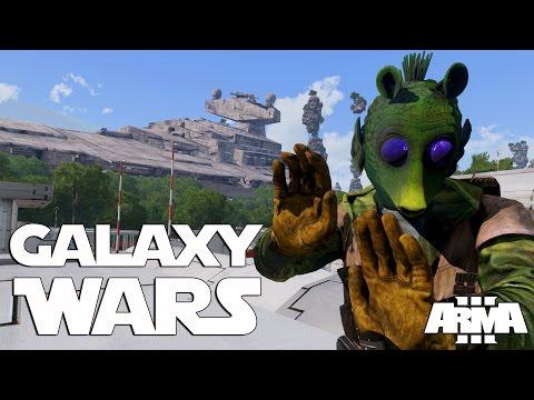 » GALAXY WARS! « - KRIEG DES STERNS, epische Arma 3 Mod!