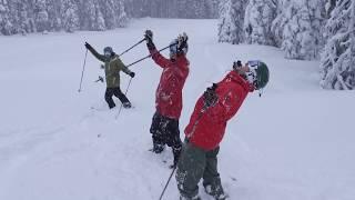 Powder Destinations - Powder Town is open for business - Powder King Mountain Resort  - #SkiNorthBC