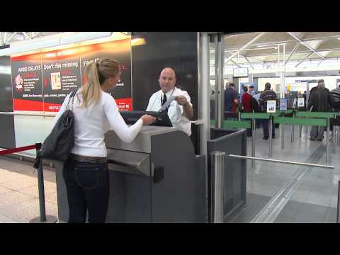 How to use Stansted's new self-service boarding pass check