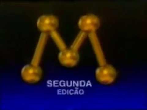 Vinheta: Jornal da Manchete 2ª Edição (1993)