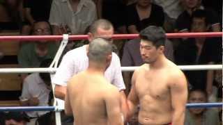 (7.15.2012 後楽園ホール 第4試合) WARU下克上 スーパーファイト -75k...