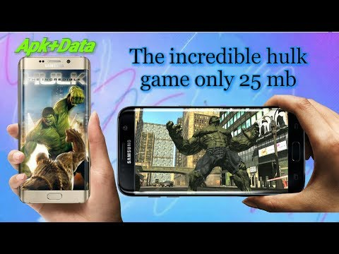 The Incredible Hulk Game Download || Apk+data || Proof With Gameplay