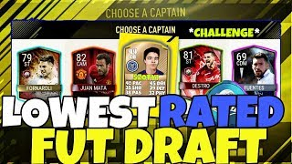AMEDDIG A TAKARÓ.. THE LOWEST RATED FUT DRAFT CHALLENGE!!| PLAYING FIFA 17 MOBILE FUT DRAFT #5 |HUN|
