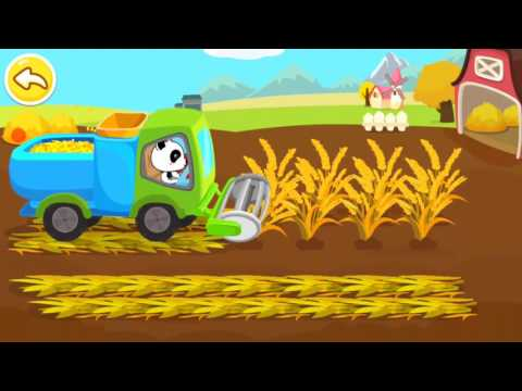 Baby Panda Learns Transport, Occupations, Natural Seasons Baby Educational Games