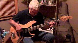 nothing is easy- jethro tull bass cover