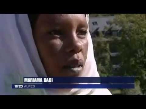 Reportage sur Mariama et Indi, femmes Toubou, venues au Grand Bivouac 2011