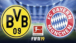 Borussia Dortmund – FC Bayern München · Lets Play Fifa 19 PS4 · BVB – FCB