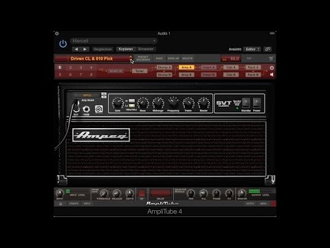 Amplitube 4, BASS AMPS, HQ Audio ! Ampeg, GK, Fender And Others