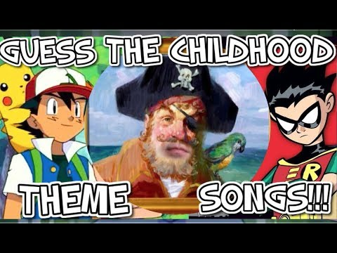 Guess That Childhood Theme Song!! - Part 1