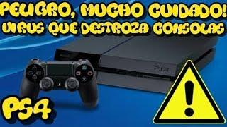¡ADVERTENCIA! | consolas de PS4 Se estropean por mensajes de virus malicioso | ¡NO LEAIS SU MENSAJE!