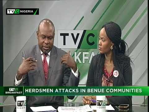 TVC Breakfast January 4th 2018 | Herdsmen attack in Benue communities