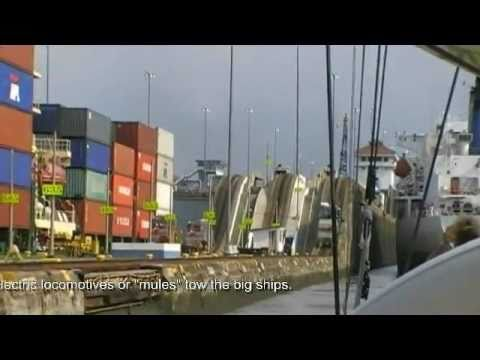 Spiip transits the Panama Canal