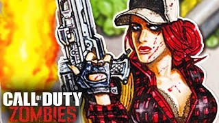*NEW* TREYARCH ZOMBIES STORY DETAILS - MISTY & NEW ENEMY! (Call of Duty Zombies Comic #5)