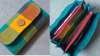 #MultiPocketPurse #SOULArtPurses #HandmadePurses DIY Six Pockets Purse