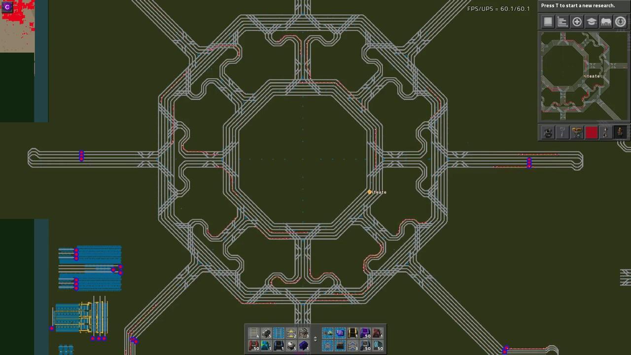 Factorio Star Intersection