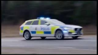 Volvo V90 police car 2017 модельного года