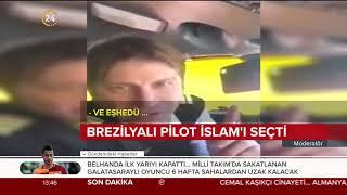Brezilyalı pilot Suudi Arabistan'ın üzerinden geçerken Müslüman oldu