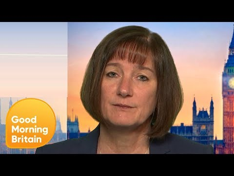 Piers Challenges NCA's Lynne Owens on How Police Cuts Effect Organised Crime Rates | GMB