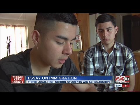 Local High School Students Win Immigration Essay Contest