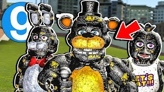 Brand New FNAF Bendy Ink Animatronics Pill Pack! Five Nights at Freddy's Garry's Mod Gameplay