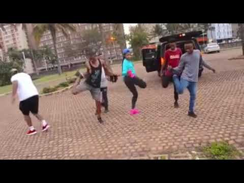 Babes wodumo dance moves GANDA GANDA please subscribe