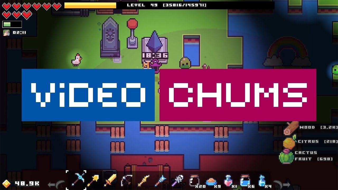 Forager Review | Video Chums