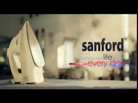 SANFORD STEAM IRON   TOUCHING YOUR LIFE EVERYDAY