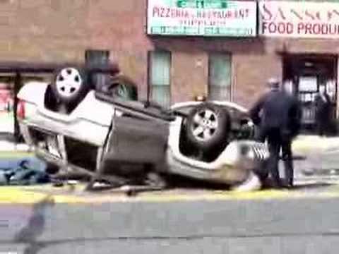 Garden City Park FD Overturn Auto
