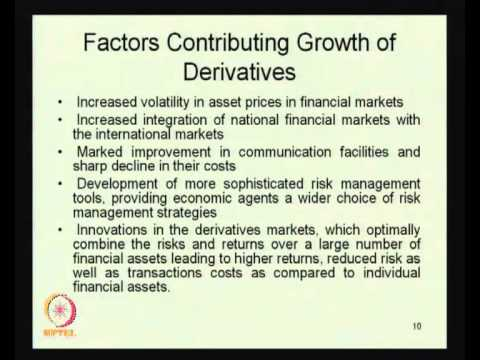 Mod-01 Lec-37 Derivatives - I