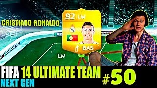 FIFA 14 NEXT GEN | ULTIMATE TEAM | #50 [ CRISTIANO RONALDO ! ]