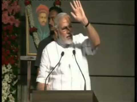 Shri Narendra Modi addresses youth at Fergusson College, Pun