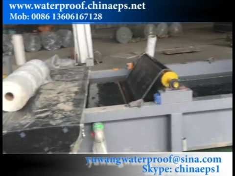 Mini SBS bitumen waterproof membrane machine for 5000 meter per day