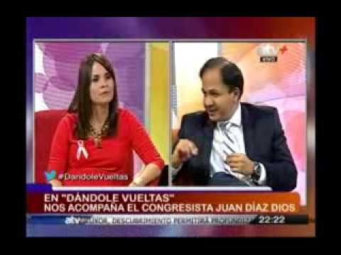 En DANDOLE VUELTAS nos acompaña el Congresista Juan José Diaz Dios