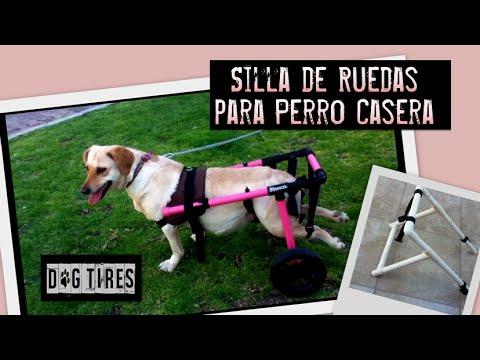 Dog tires silla de ruedas para perro hecha en casa youtube for Sillas para perros