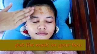 how to make natural acne mask ( Masker jerawat berbahan alami terbuat dari pala )