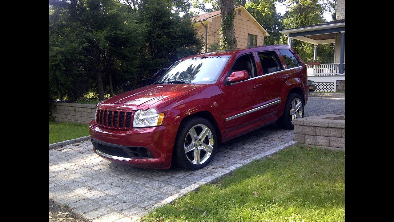 2006 Jeep Grand Cherokee SRT8 Start Up, Exhuast, And In Depth Tour  (Saabkyle04 Style)   YouTube