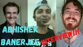 Abhishek Banerjee INTERVIEW!! Our Stupid REACTION!!
