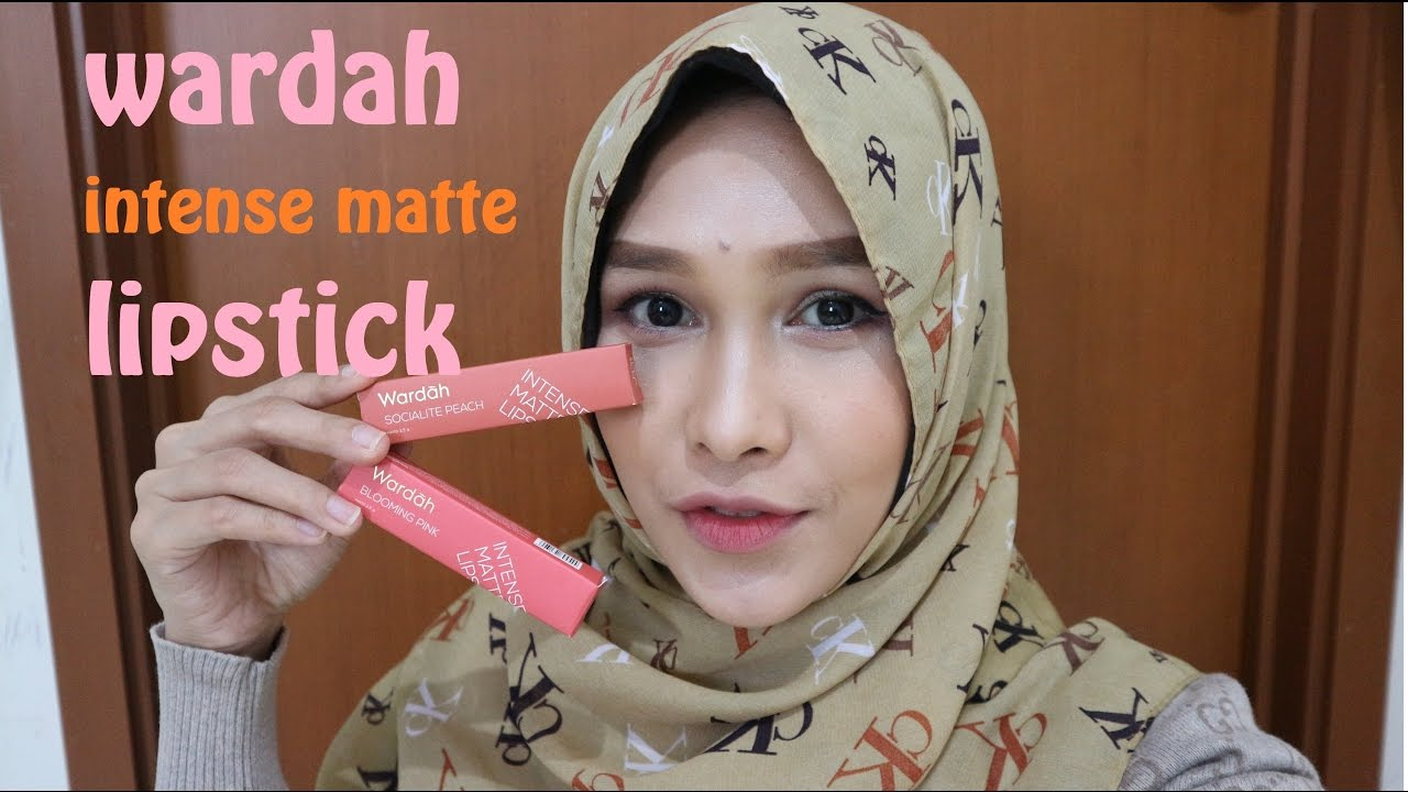 Review Wardah Intense Matte Lipstick Mayaputri Youtube