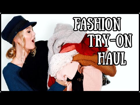 TRY-ON FASHION HAUL November 2019 - Herbst & Winter I Cindy Jane