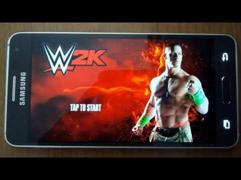 WWE2K Gameplay On Android