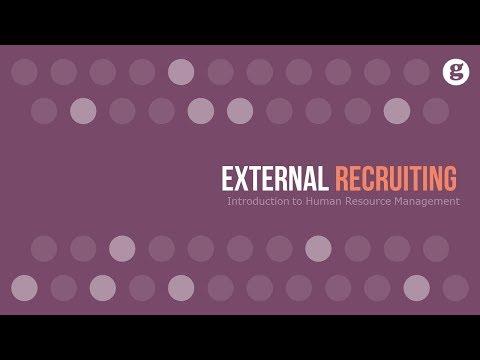 External Recruiting